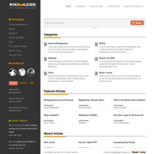iKnowledge WordPress Theme