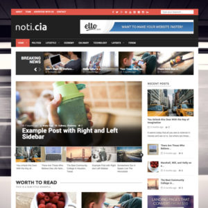 Noticia WordPress Theme